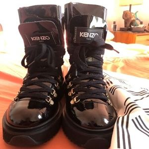 New Kenzo Alaska Boots, Size 37